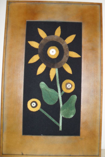 Folk Sunflower