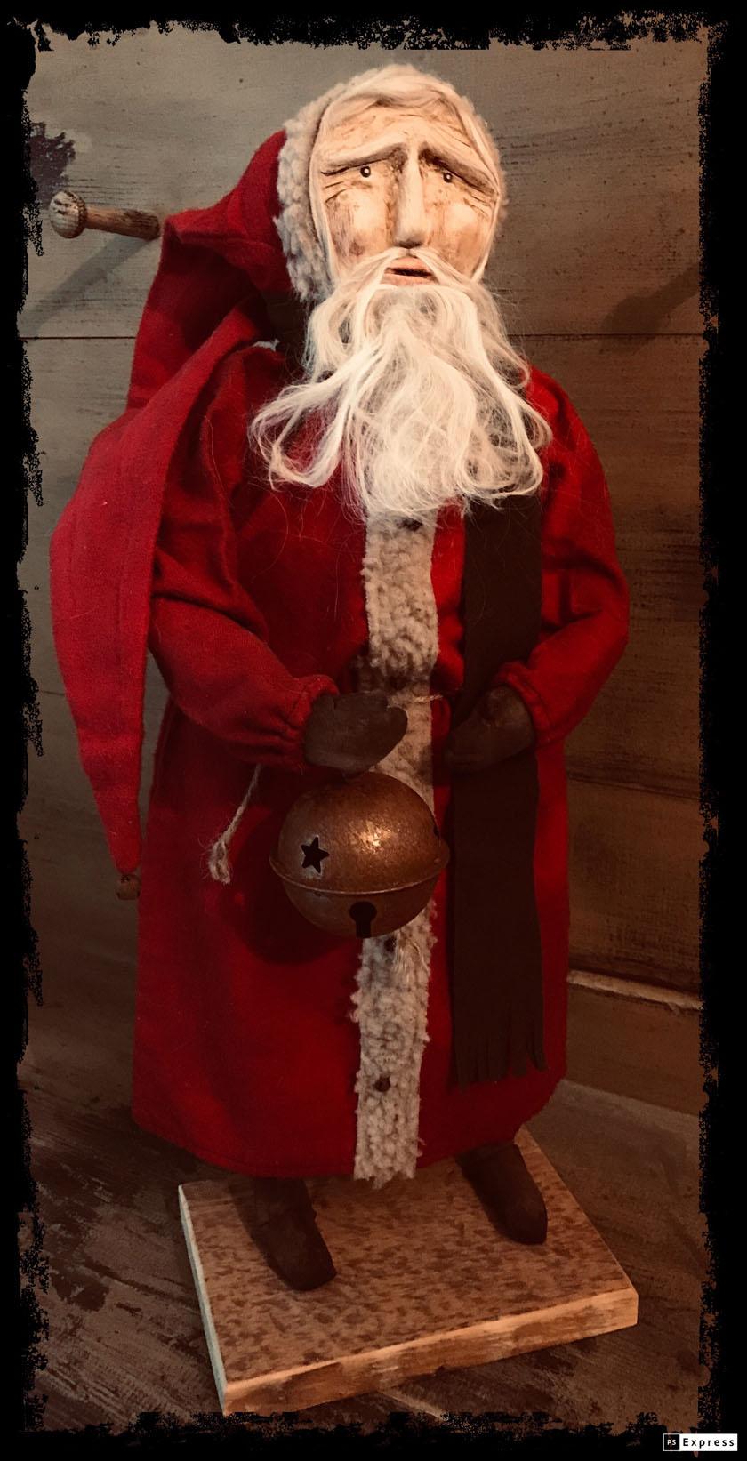 CF Santa w/ Lg Bell