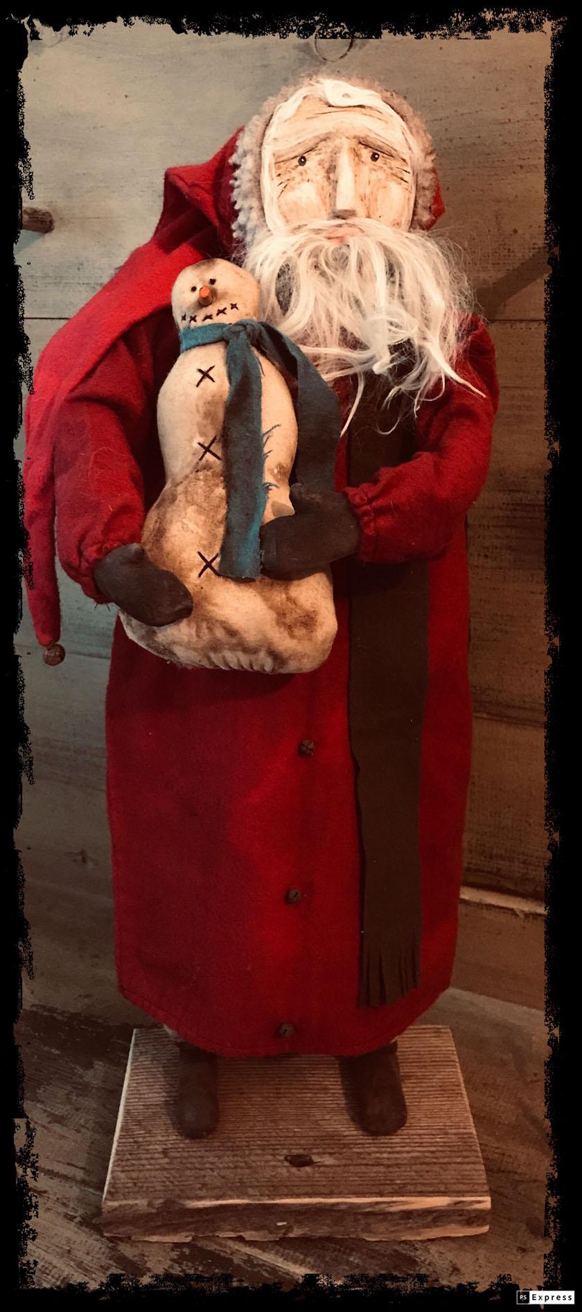 CF Santa w/ Snowman