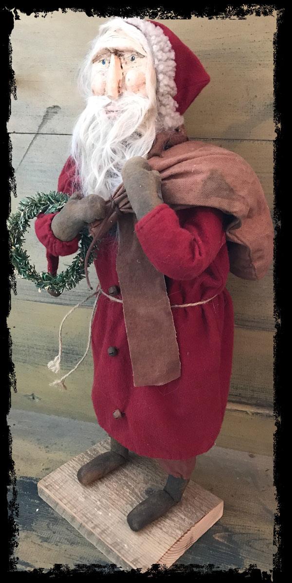 #CF ST wbg CF Santa w/bag