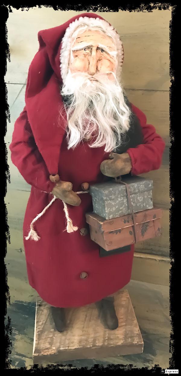 #CF ST whb CF Santa w/ hat boxes