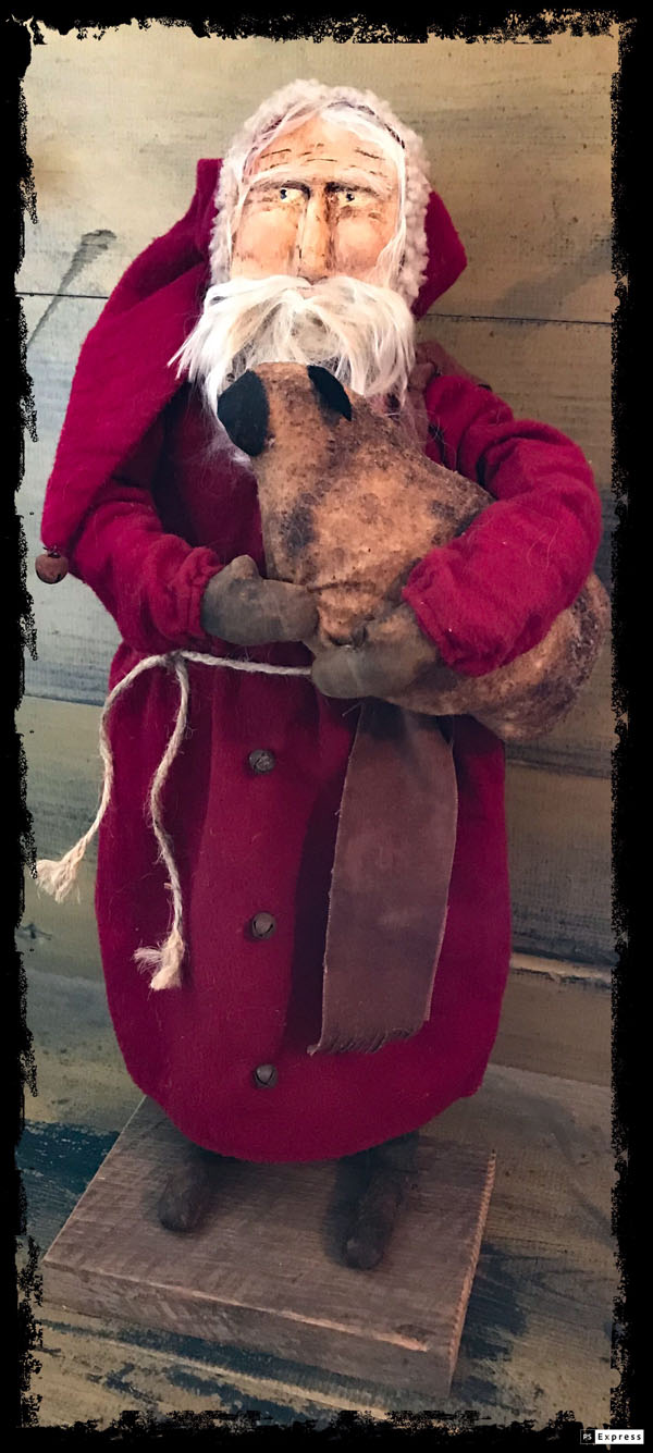 CF Santa w/ Sheep