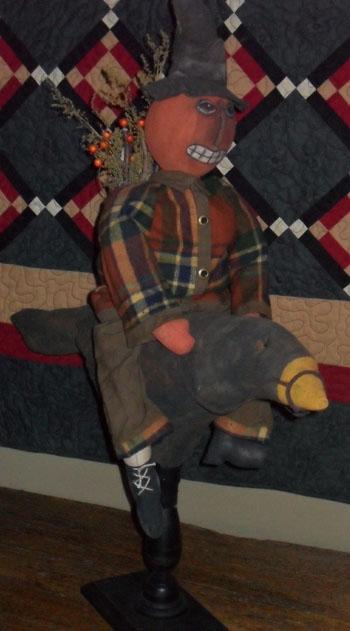 Jack Riding Crow